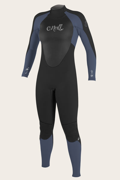 WOMEN'S EPIC 4/3MM BACK ZIP FULL WETSUIT
