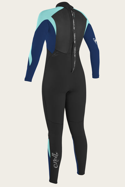 Women'S Epic 4/3Mm Back Zip Full Wetsuit | O'Neill Clothing USA