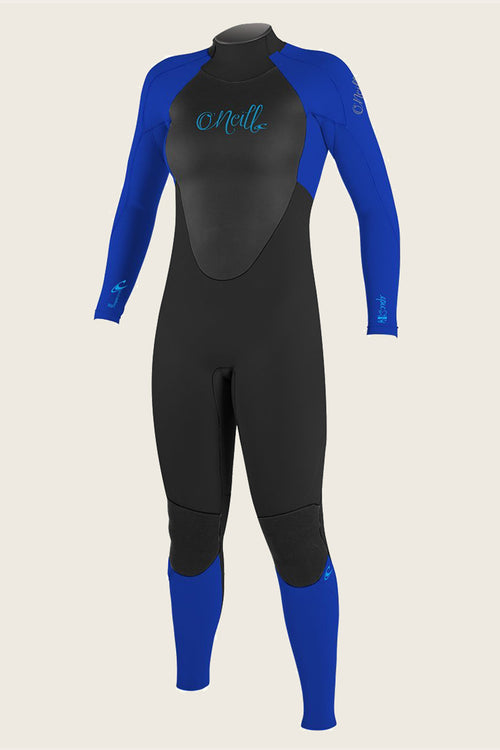 GIRL'S EPIC 3/2MM BACK ZIP FULL WETSUIT - PAST SEASON