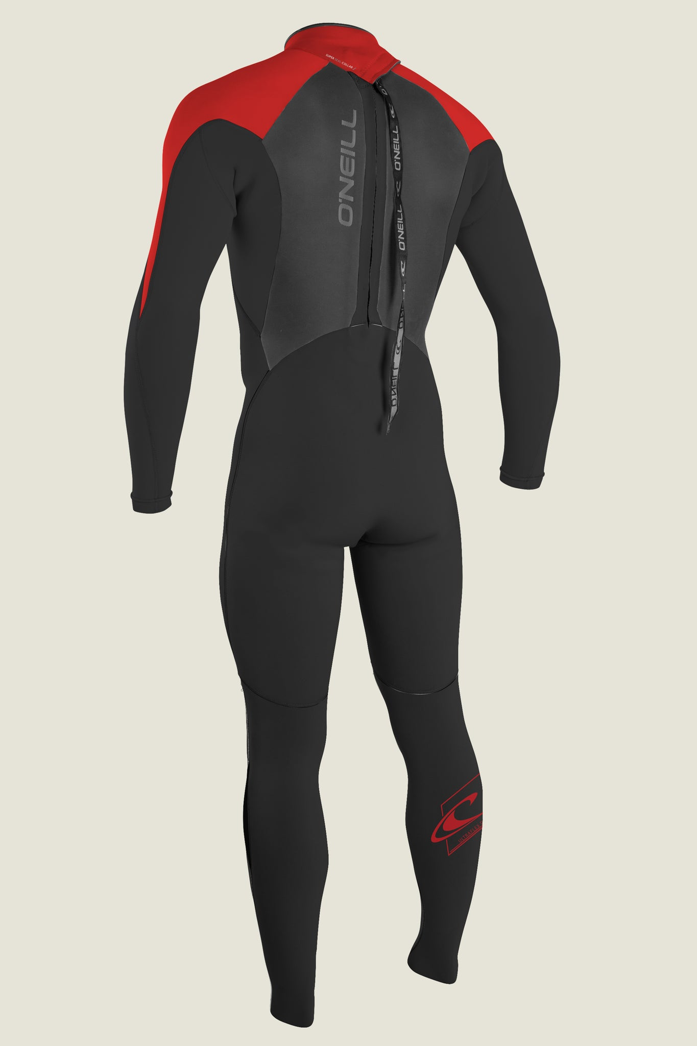 Youth Epic 4/3Mm Back Zip Full Wetsuit - Mniteoil/Mniteoil/Red | O'Neill