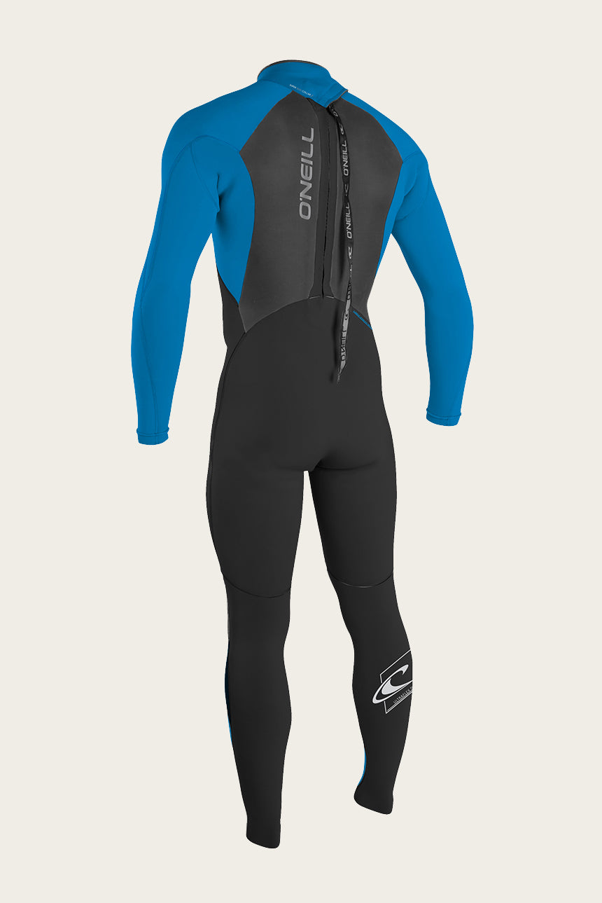 Youth Epic 3/2Mm Back Zip Full Wetsuit - Blk/Blu/Bl | O'Neill