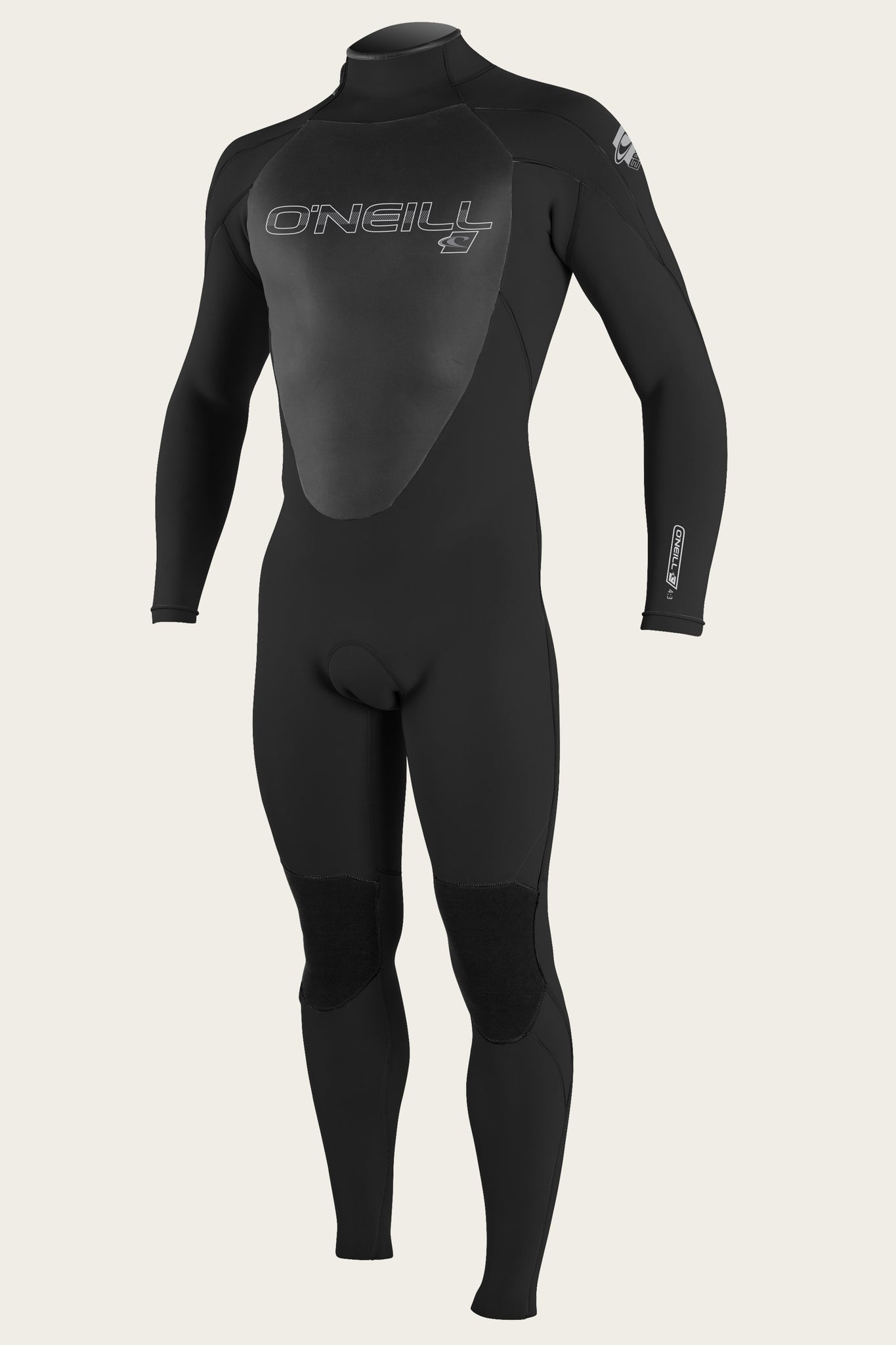 Youth Epic 3/2Mm Back Zip Full Wetsuit - Blk/Blk | O'Neill