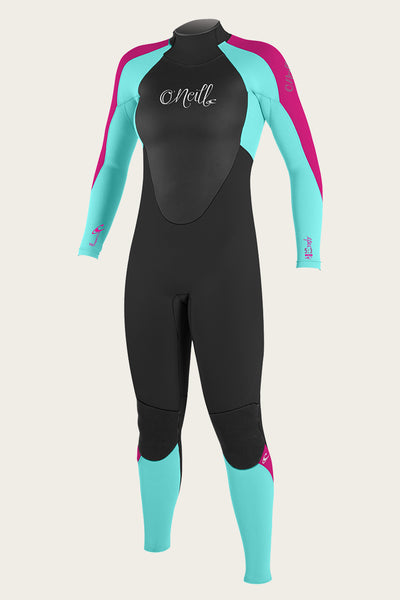 GIRL'S EPIC 4/3MM BACK ZIP FULL WETSUIT