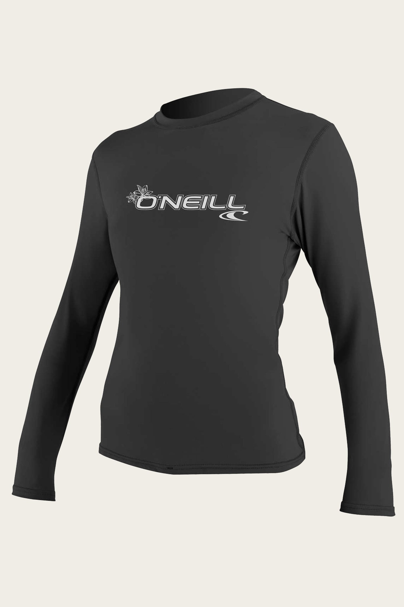 Women's Basic 50+ L/S Sun Shirt - Black | O'Neill