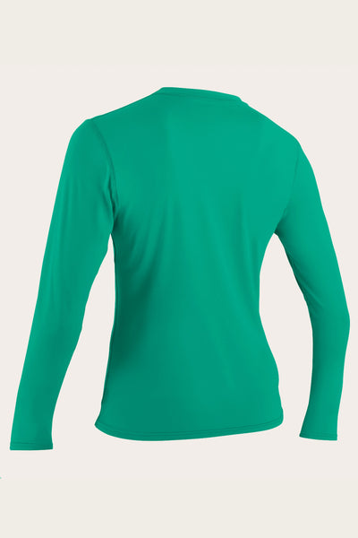 WOMEN'S BASIC L/S SUN SHIRT