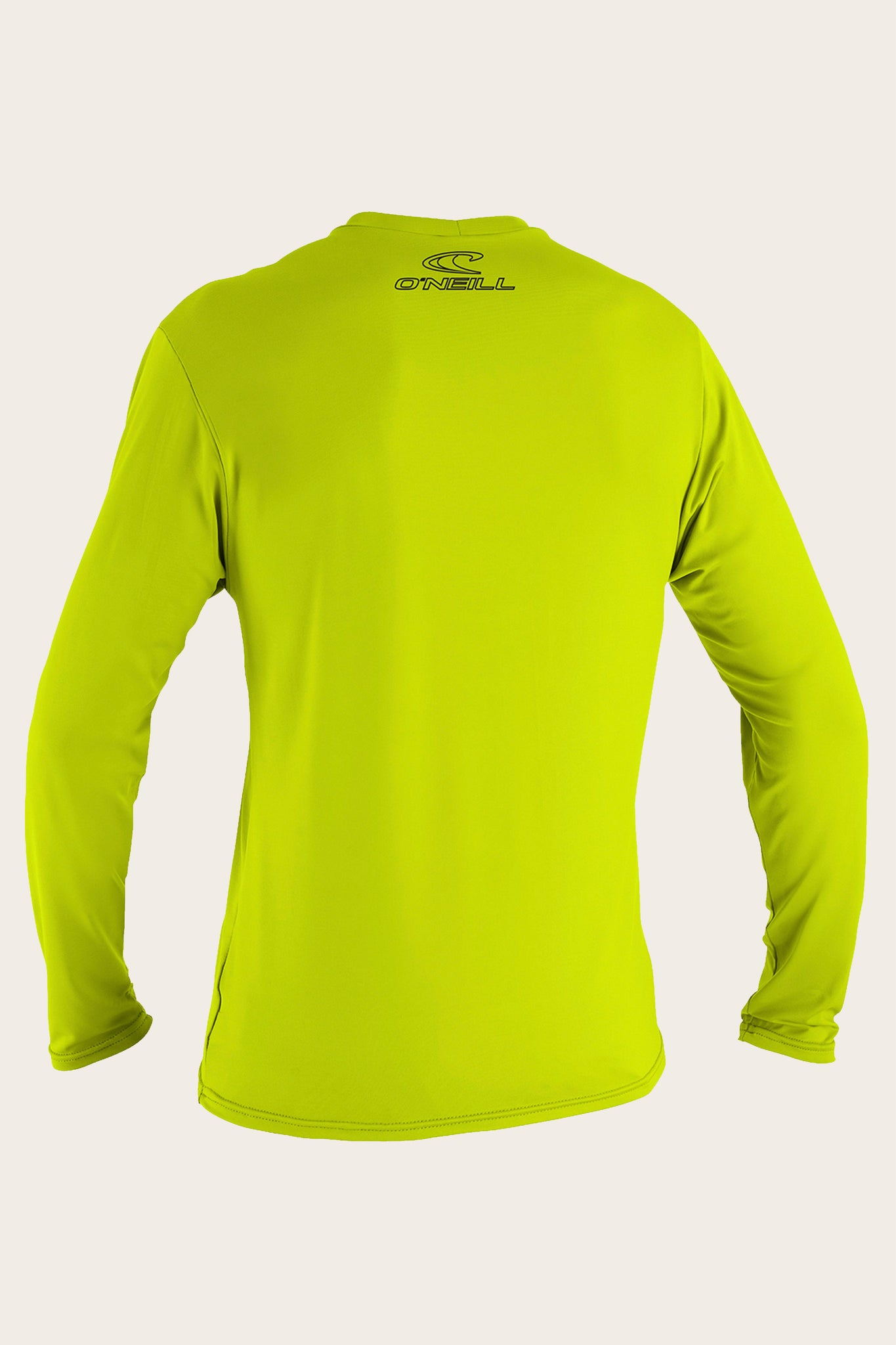 Youth Basic Skins 50+ L/S Sun Shirt - Lime | O'Neill