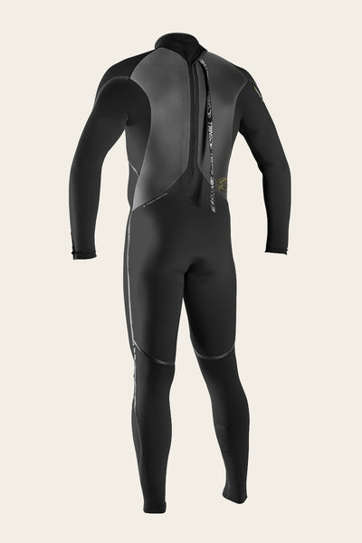 HEAT 3/2MM BACK ZIP FULL WETSUIT