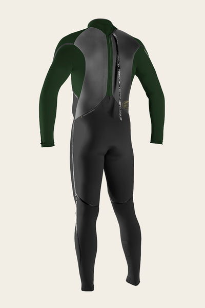 HEAT 4/3MM BACK ZIP FULL WETSUIT - PAST SEASON