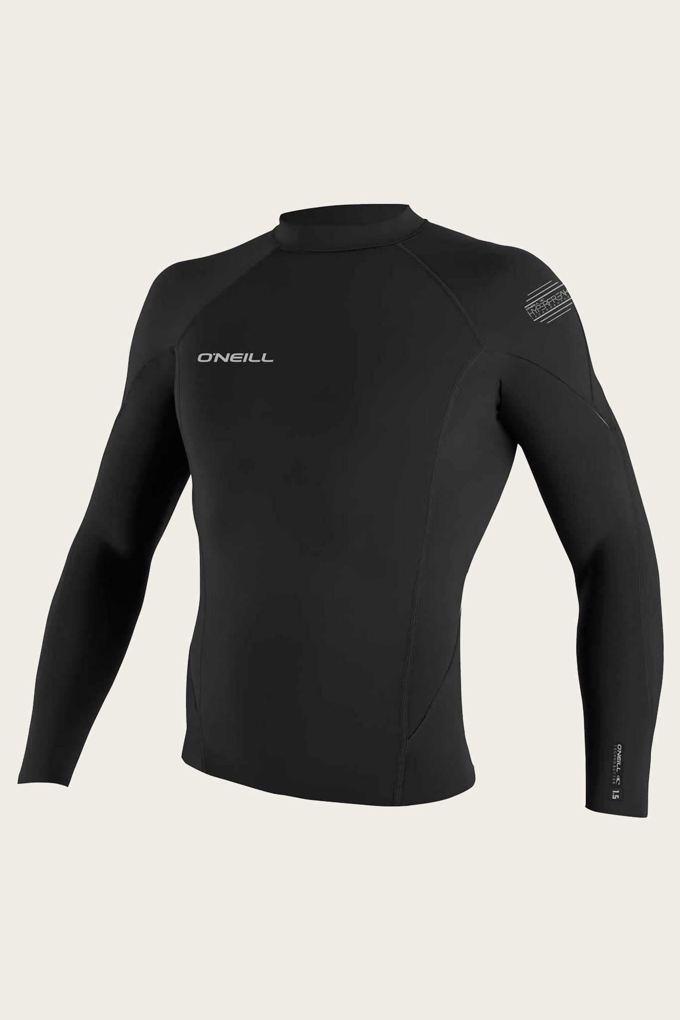 Hyperfreak 1.5Mm L/S Top - Blk/Blk | O'Neill