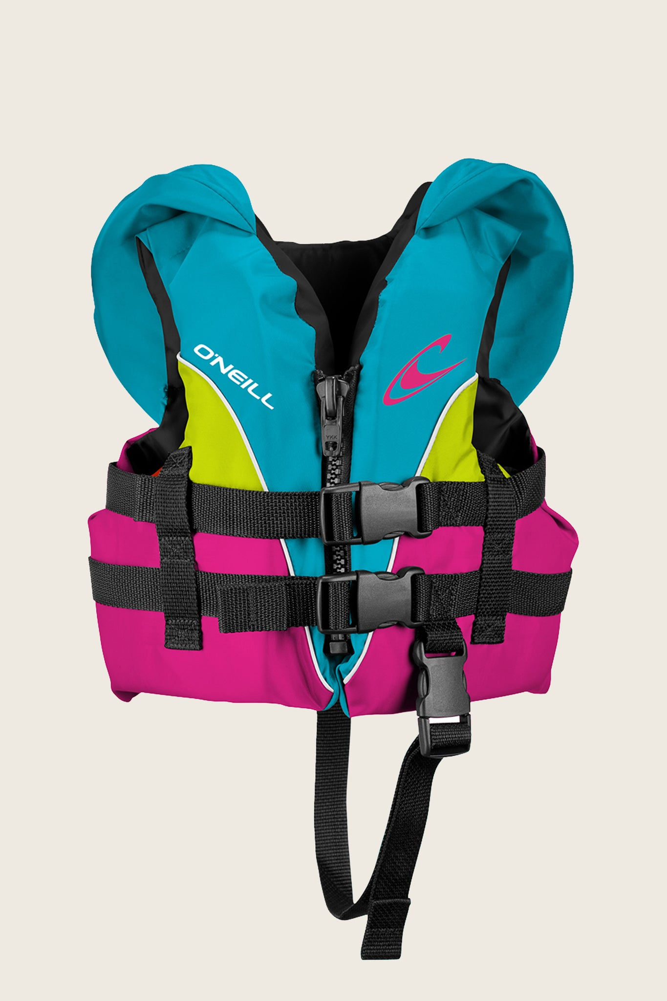 Infant Superlite Uscg Vest - Turq/Berry/Lime:Wht | O'Neill