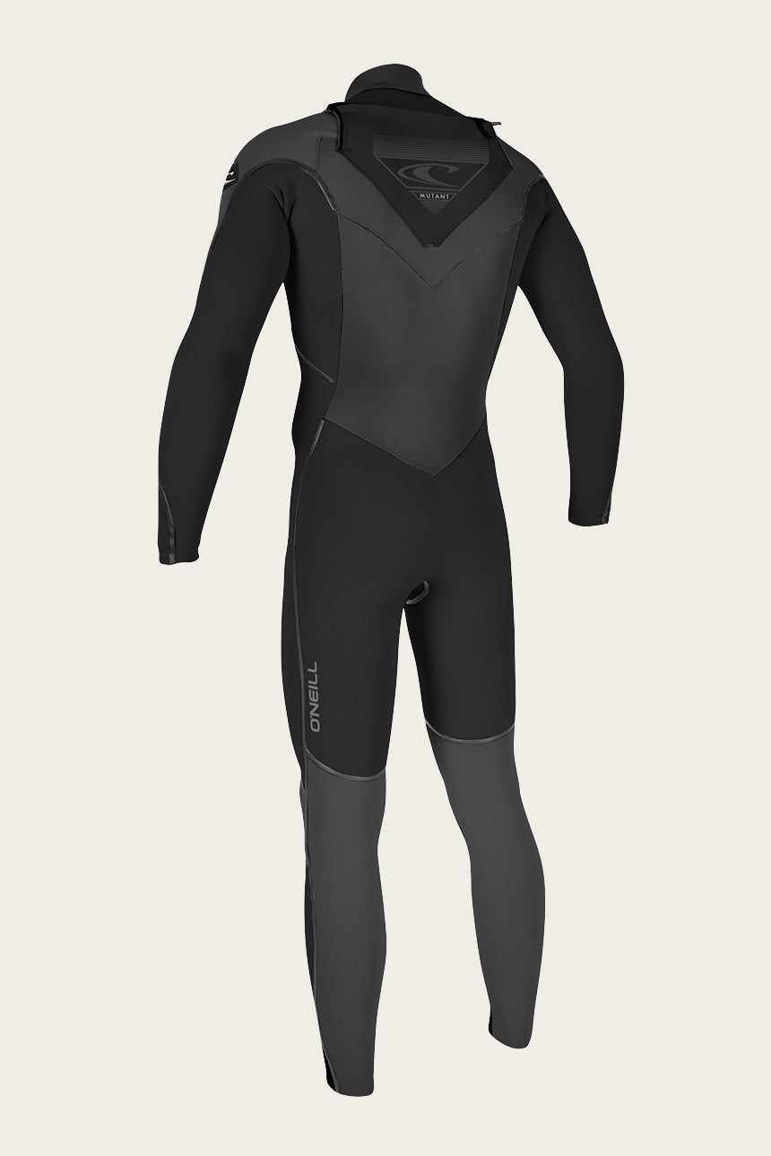 Mutant 4/3Mm Chest Zip Full W/Hood Wetsuit - Blk/Graphpin | O'Neill