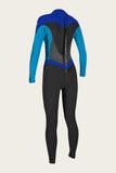 WOMENS FLAIR ZENZIP 3/2 FULL WETSUIT