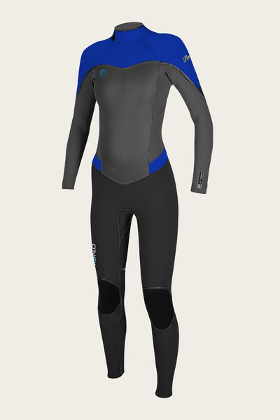 WOMENS FLAIR ZENZIP 4/3 FULL WETSUIT - PAST SEASON