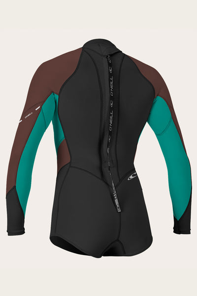 WOMENS BAHIA 2/1MM L/S SHORT SPRING WETSUIT
