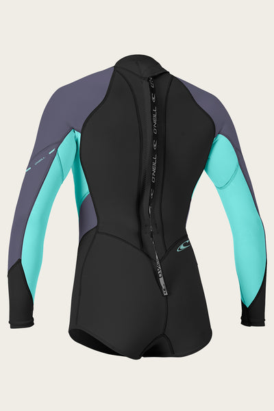 WOMEN'S BAHIA 2/1MM BACK ZIP L/S SHORT SPRING WETSUIT