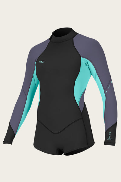 06382b927e WOMEN S BAHIA 2 1MM BACK ZIP L S SHORT SPRING WETSUIT ...