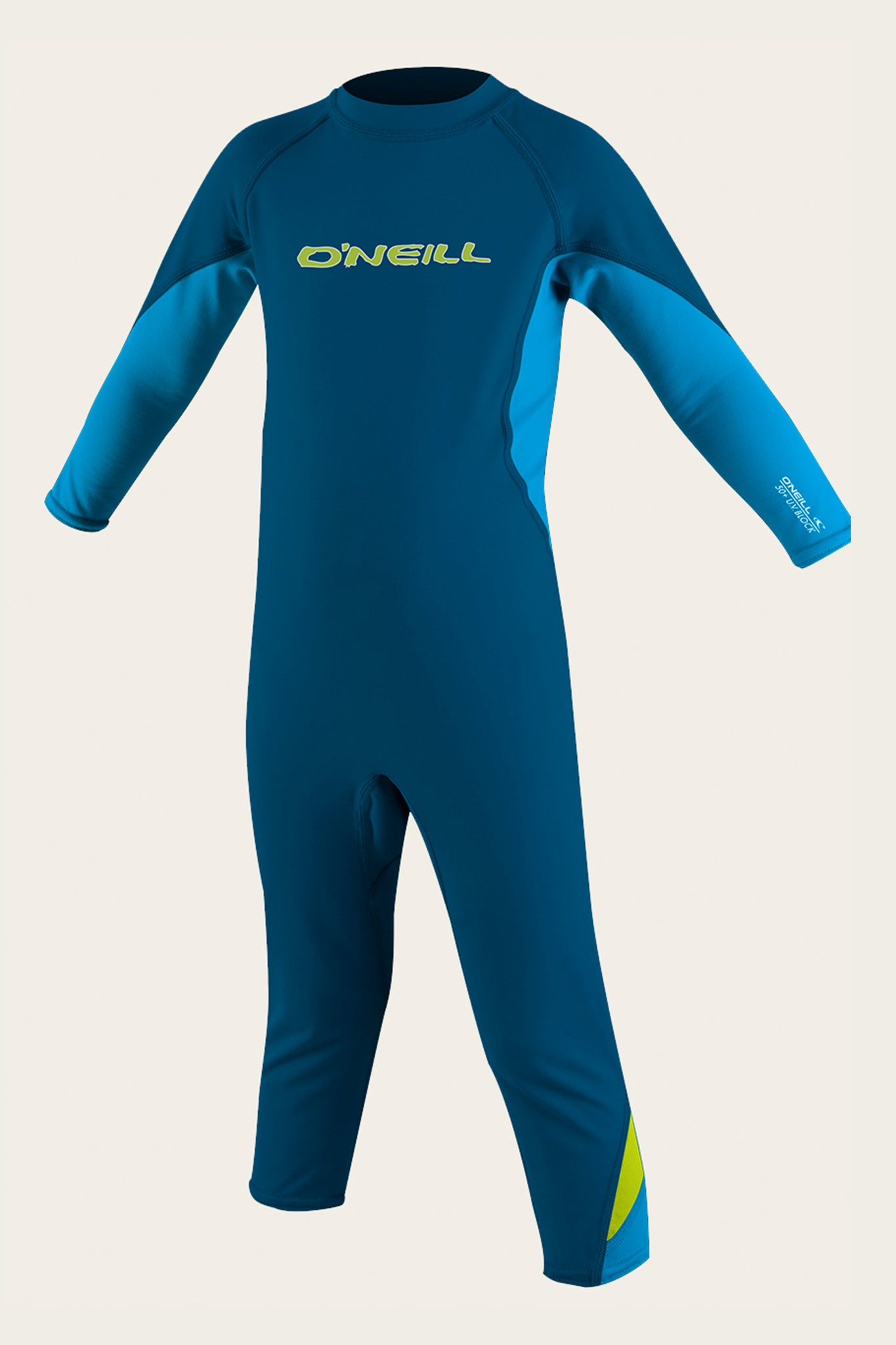Boys O'Zone Toddler Uv Full - Deepsea/Sky/Lime | O'Neill