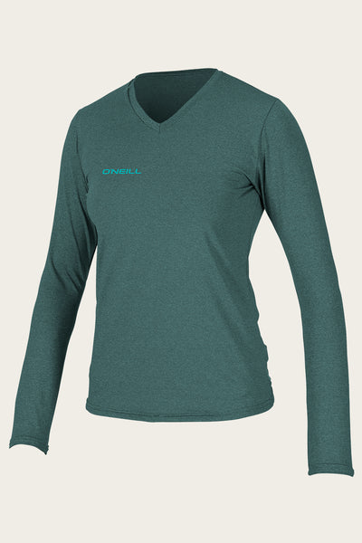 Women'S Hybrid L/S V-Neck Sun Shirt | O'Neill Clothing USA