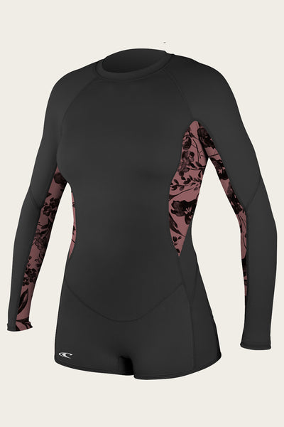 WOMENS SKINS L/S SURF SUIT