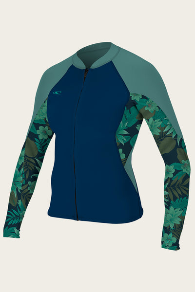 WOMEN'S BAHIA 1/1.5MM FULL ZIP JACKET