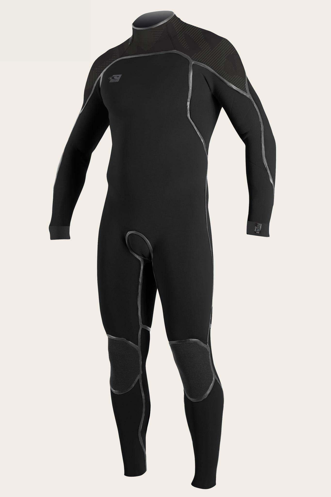Psycho One 3/2Mm Back Zip Full Wetsuit - Blk/Jetcamo | O'Neill