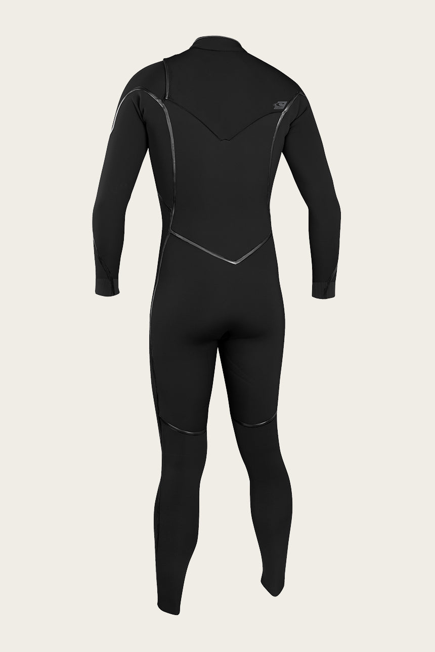 Psycho One 3/2Mm Chest Zip Full Wetsuit - Black/Black | O'Neill