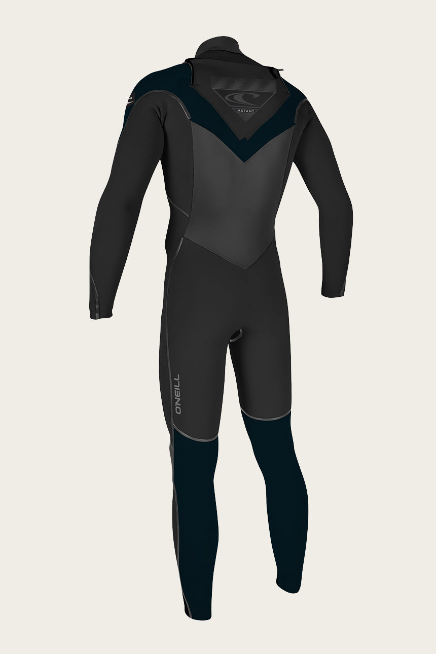 Youth Mutant 5/4/3Mm Chest Zip Full W/Hood Wetsuit - Blk/Slate | O'Neill