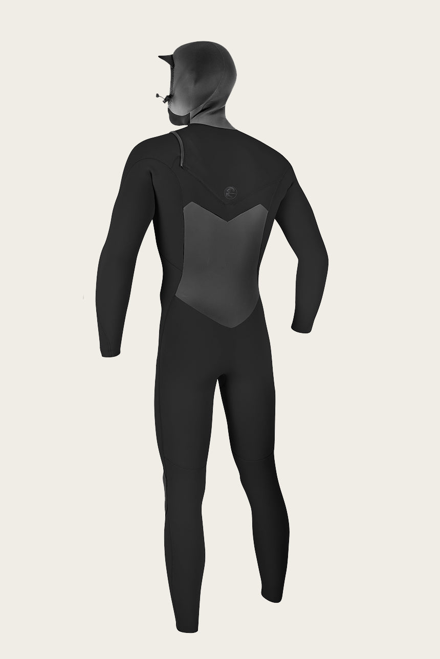 Original 5/4Mm Chest Zip Full W/Hood Wetsuit - Blk/Blk | O'Neill