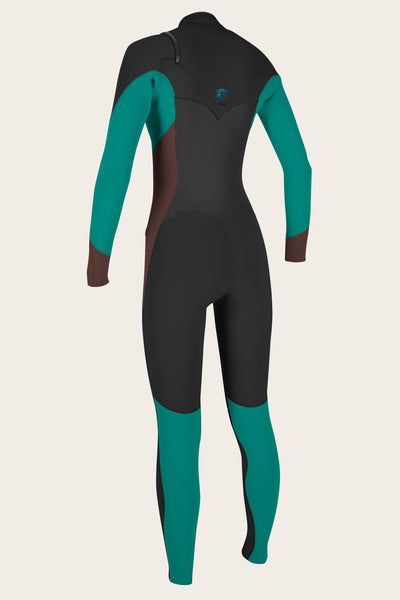 Women'S O'Riginal 3/2Mm Chest Zip Full Wetsuit | O'Neill Clothing USA