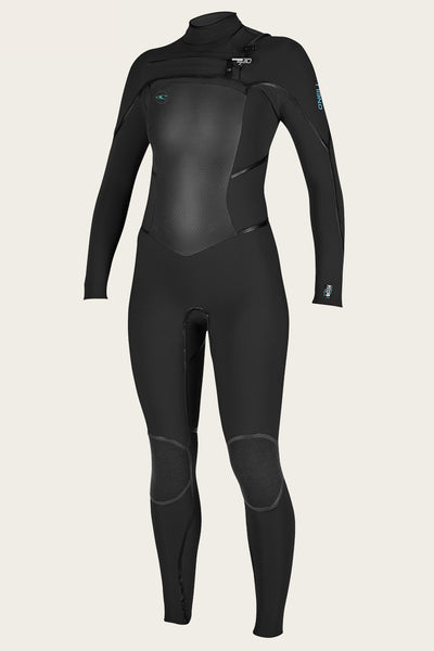 WOMEN'S PSYCHO TECH 4/3MM CHEST ZIP FULL WETSUIT