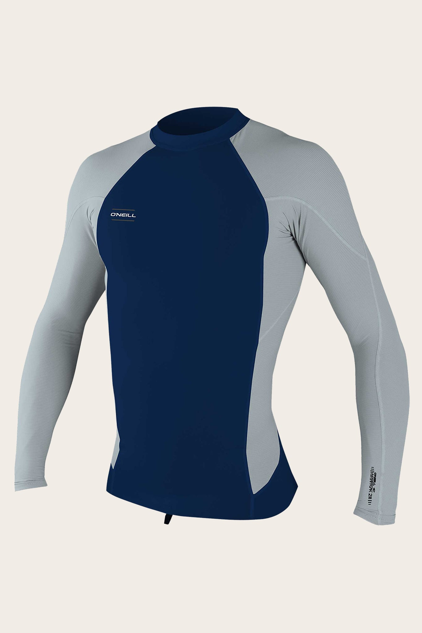 Hyperfreak 0.5Mm Neoprene/Skins Long Sleeve Top - Abyss/Coolgry | O'Neill