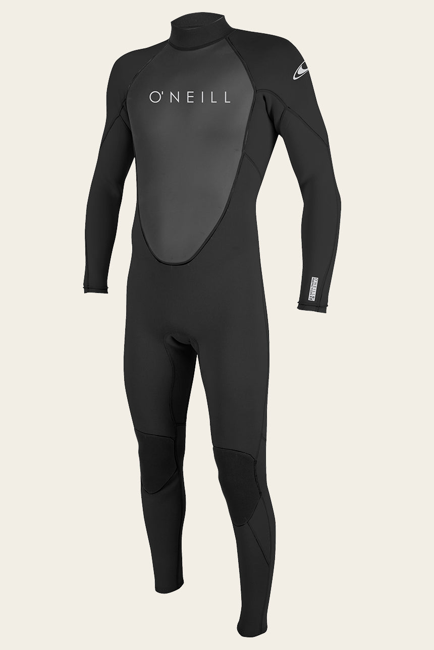 Reactor-2 3/2Mm Back Zip Full Wetsuit - Blk/Blk | O'Neill