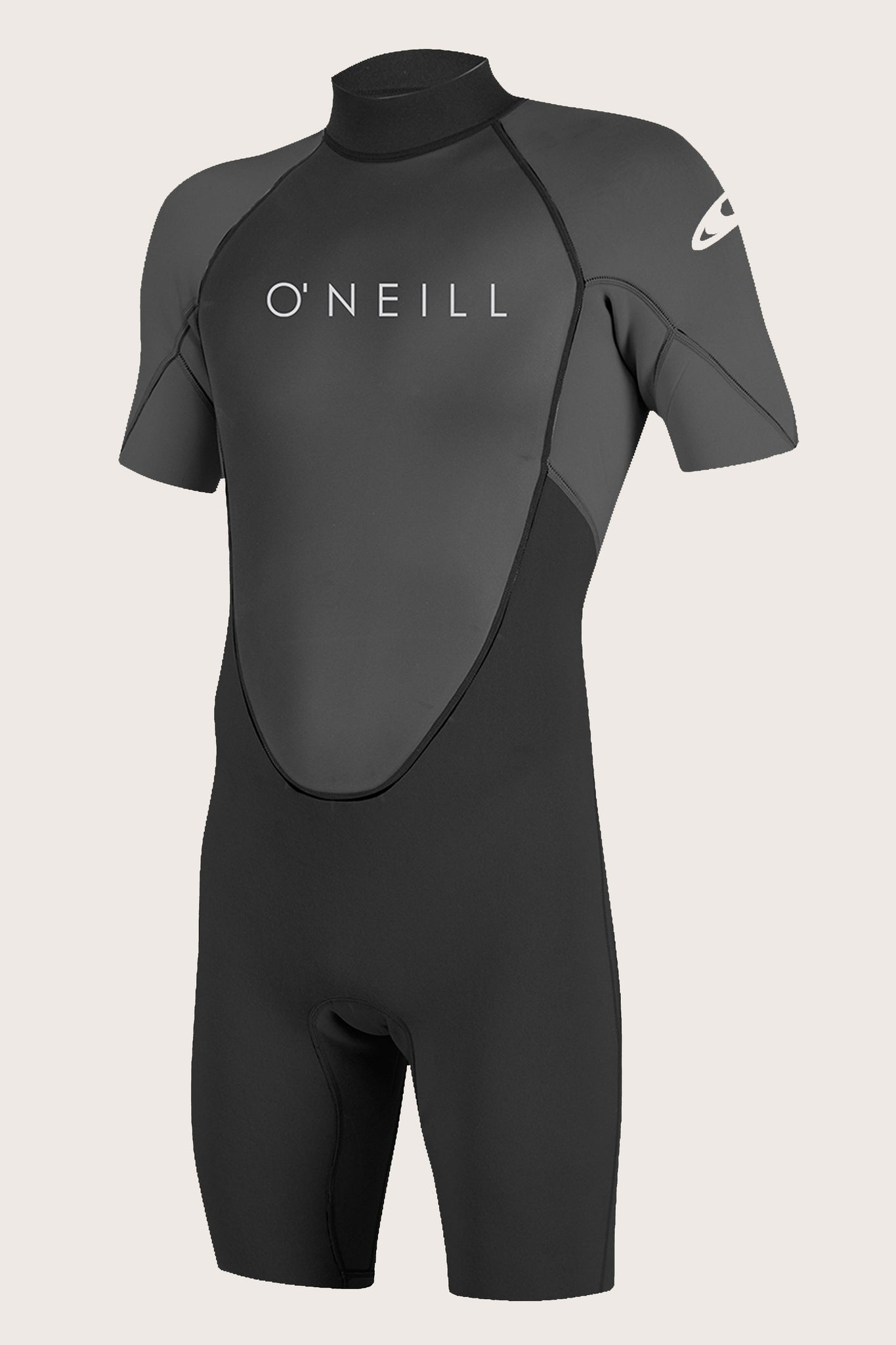 Reactor-2 2Mm Back Zip S/S Spring Wetsuit - Blk/Graph | O'Neill