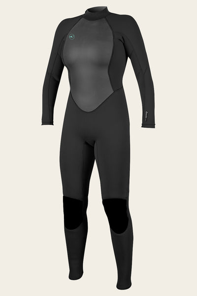 WOMEN'S REACTOR II 3/2MM BACK ZIP FULL WETSUIT