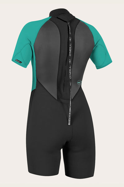 Women'S Reactor Ii 2Mm Back Zip S/S Spring Wetsuit | O'Neill Clothing USA
