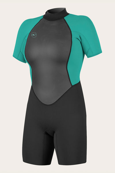 WOMEN'S REACTOR II 2MM BACK ZIP S/S SPRING WETSUIT
