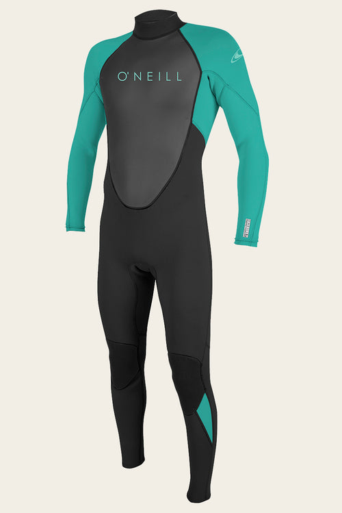 YOUTH REACTOR II 3/2MM BACK ZIP FULL WETSUIT