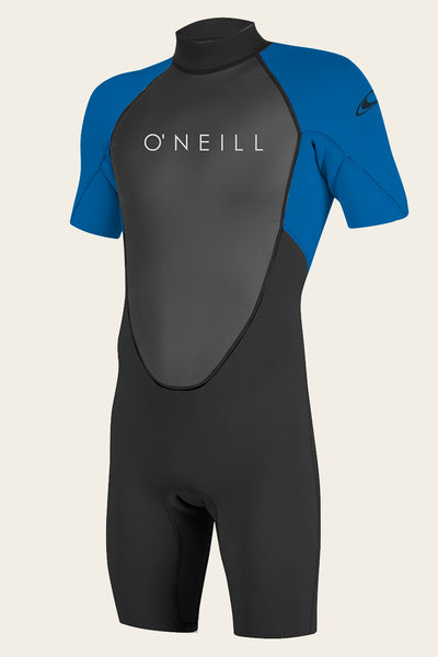 YOUTH REACTOR II 2MM BACK ZIP S/S SPRING WETSUIT