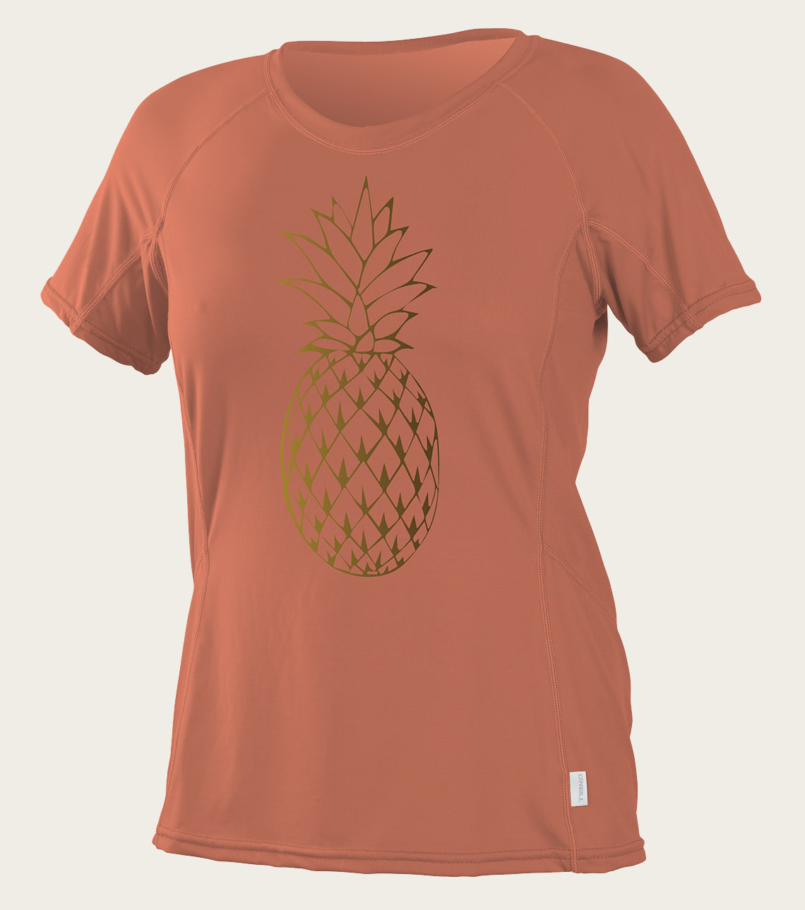 Womens Graphic S/S Sun Shirt - Coral Punch | O'Neill