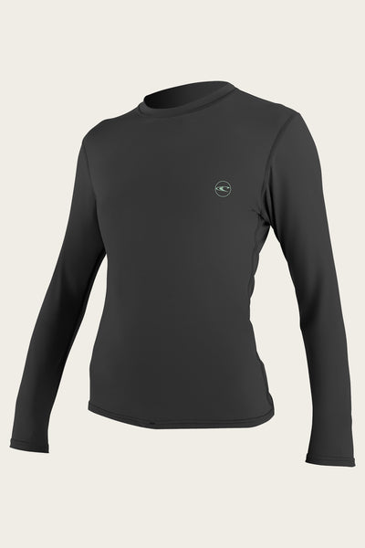 WOMEN'S BASIC 30+ L/S SUN SHIRT