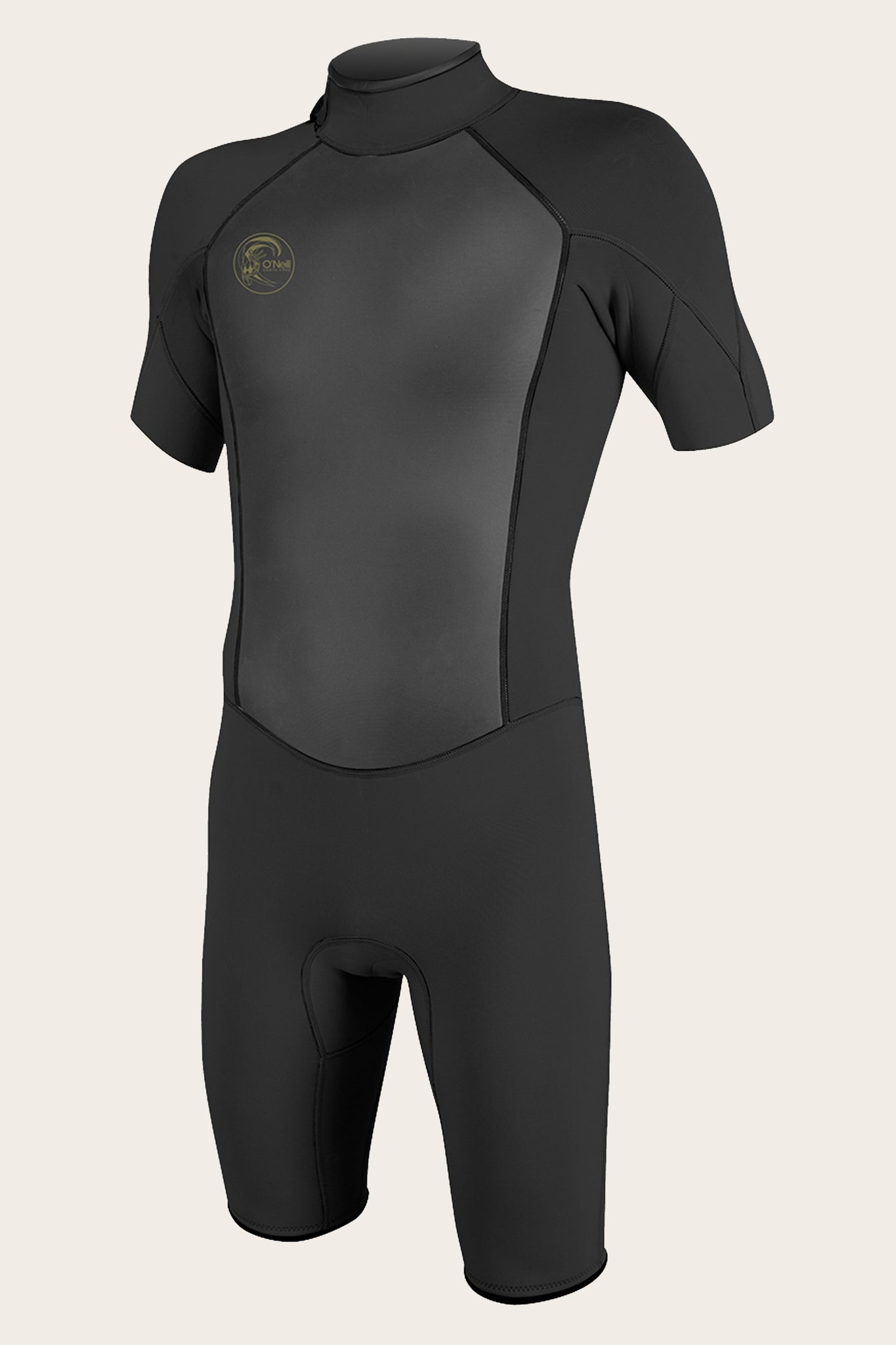 O'Riginal 2Mm Back Zip S/S Spring Wetsuit - Blk/Blk | O'Neill