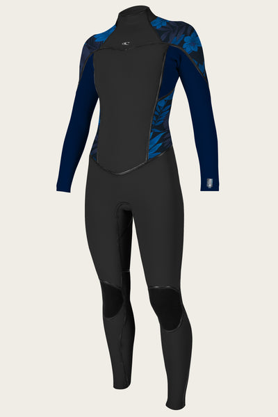 Women'S Psycho One 4/3Mm Back Zip Full Wetsuit | O'Neill Clothing USA