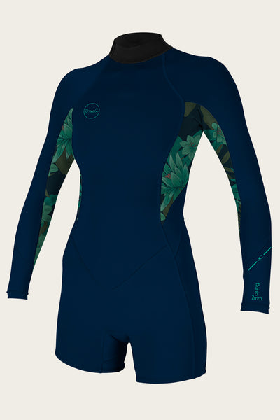 WOMEN'S BAHIA 2/1MM BACK ZIP L/S SPRING WETSUIT