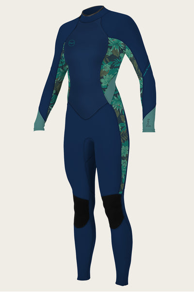 Women'S Bahia 3/2Mm Back Zip Full Wetsuit | O'Neill Clothing USA