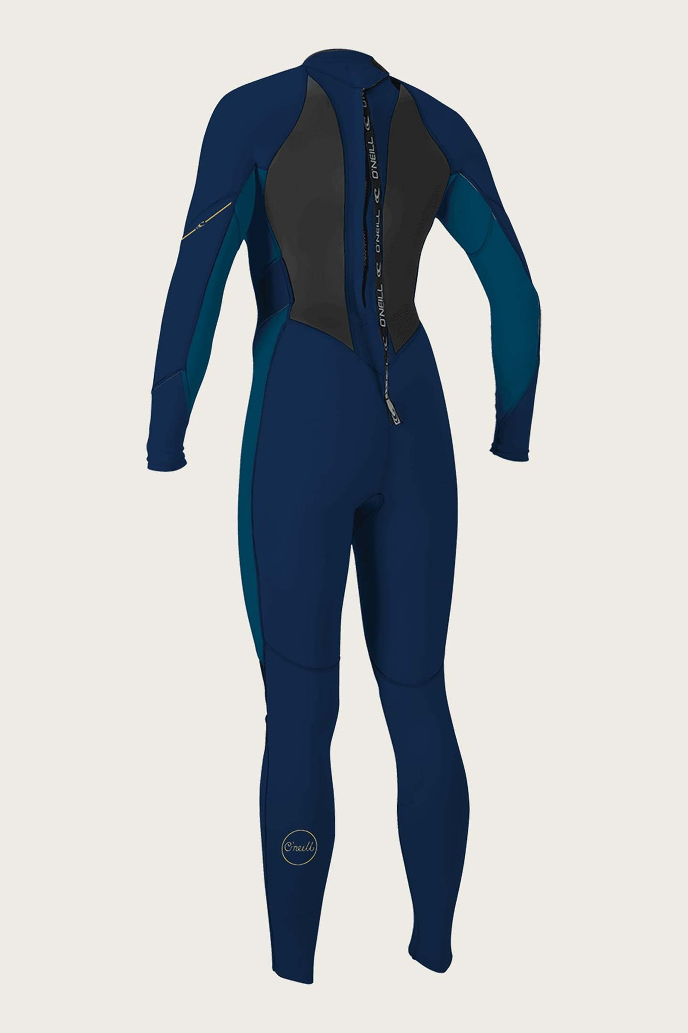 Women's Bahia 3/2Mm Back Zip Full Wetsuit - Abyss/Frnavy/Abyss | O'Neill