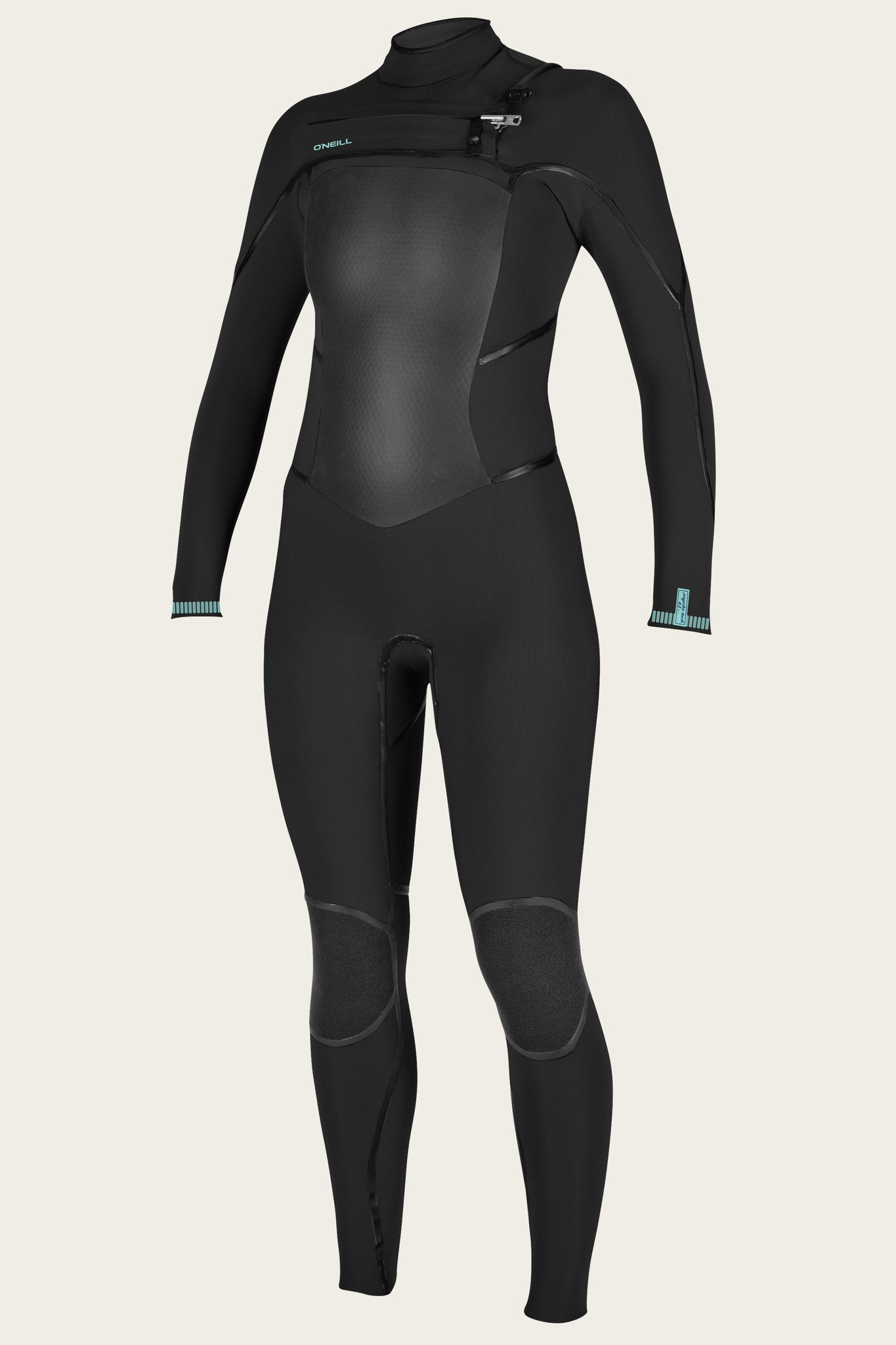 Women'S Psycho Tech 4/3+Mm Chest Zip Full Wetsuit - Black/Black | O'Neill