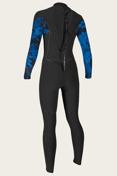Women'S Psycho One 3/2Mm Back Zip Full Wetsuit | O'Neill Clothing USA
