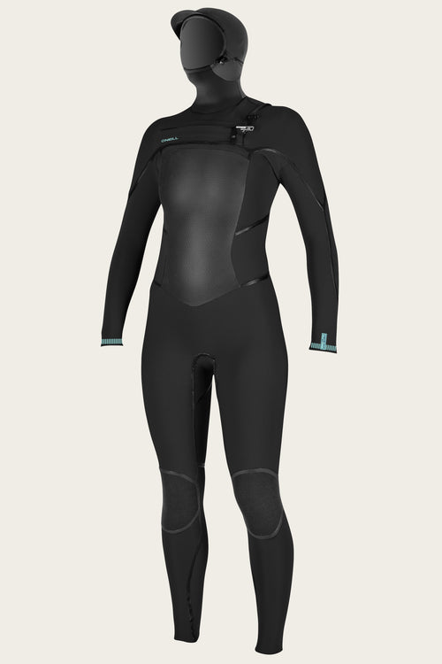 WOMEN'S PSYCHO TECH 5.5/4MM CHEST ZIP FULL W/HOOD WETSUIT