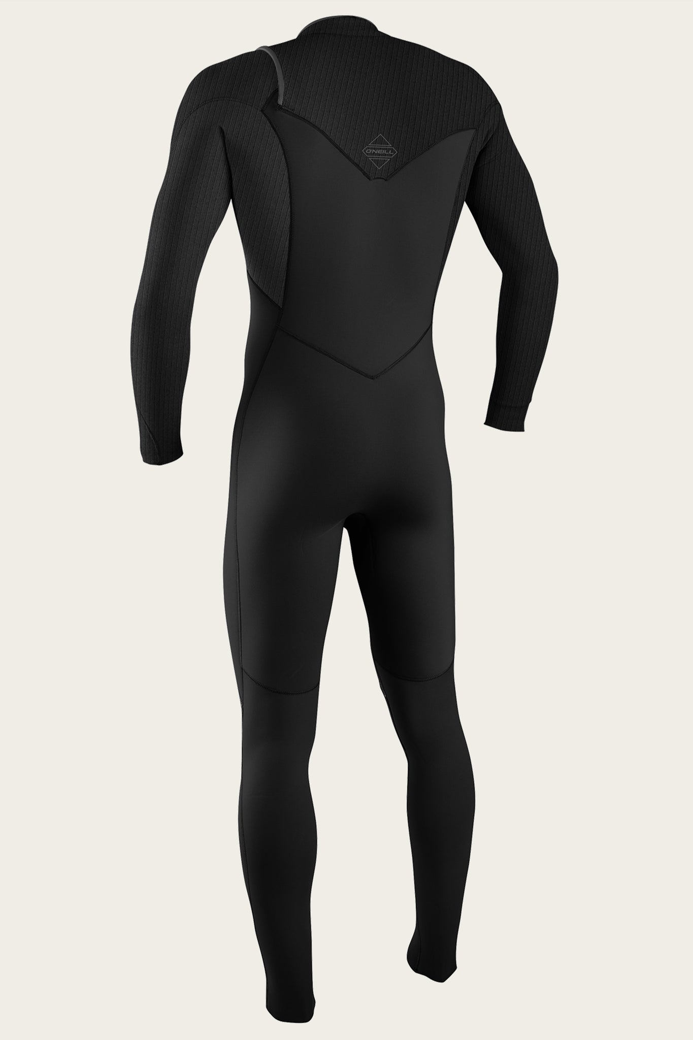 Hyperfreak 3/2+Mm Chest Zip Full Wetsuit - Black/Black | O'Neill