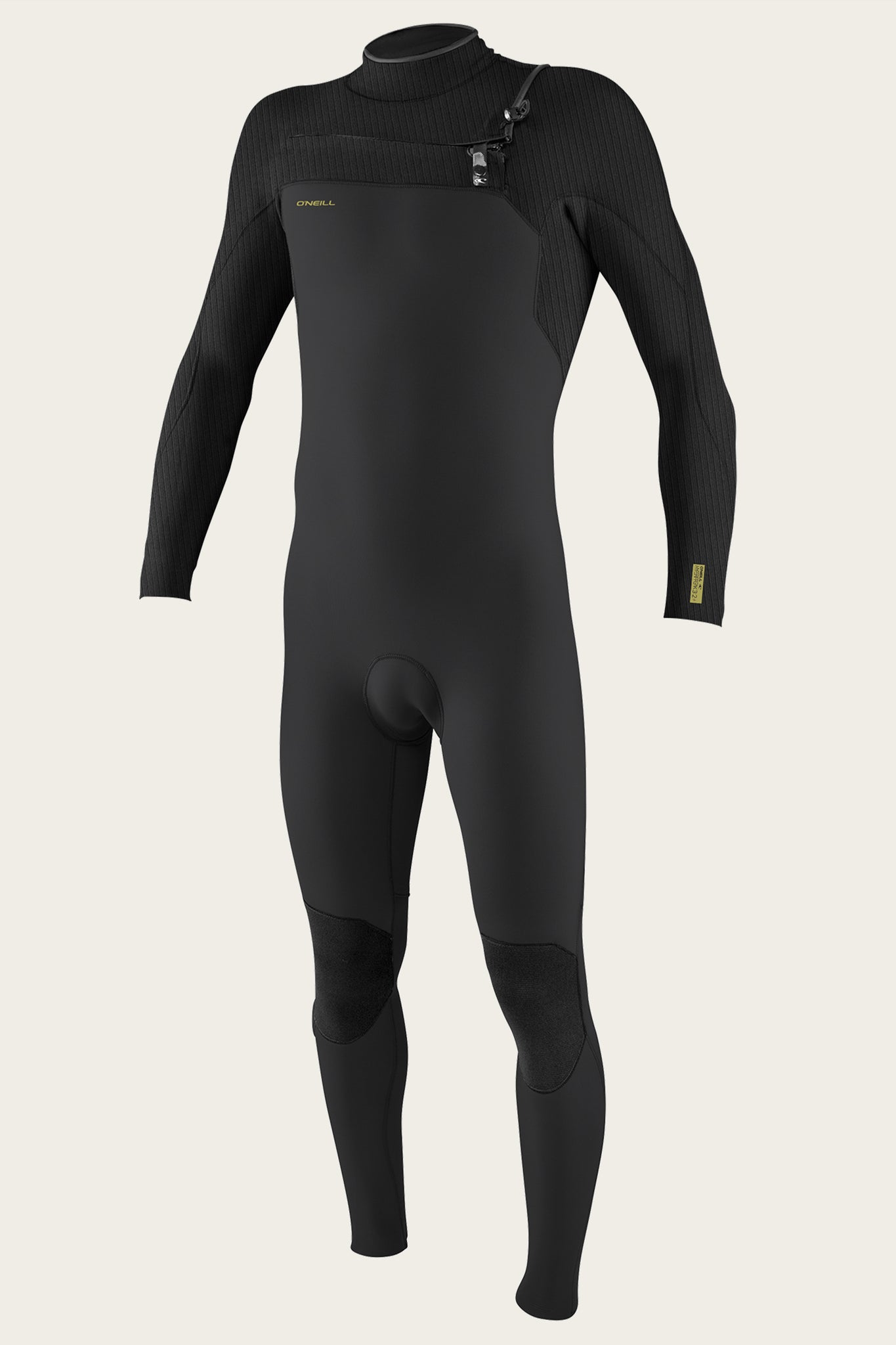 Hyperfreak 3/2+Mm Chest Zip Full Wetsuit - Raven/Black | O'Neill